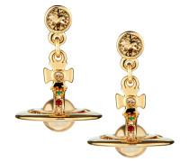 Gold New Petite Orb Earrings