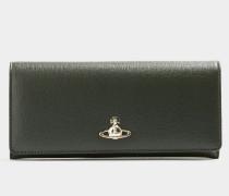 Victoria Classic Credit Card Wallet Green