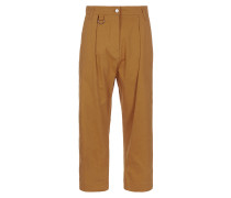Cropped Dietrich Trousers Orange