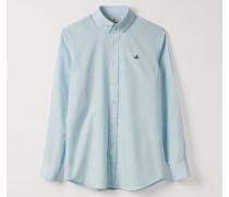 Two Button Krall Shirt Sky