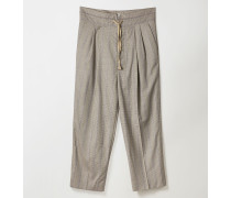 Laurent Trousers Puppy Tooth