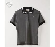 New Polo Short Sleeve Grey Melange