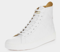 High Top Trainers White