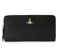 Pimlico Zip Round Wallet 51050022 Black