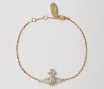 Valentina Orb Bracelet Golden Tone