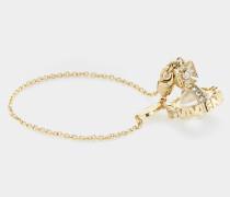 Paisley Orb Bracelet Gold Tone