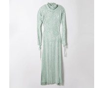 Pourpoint Polo Neck Dress Mint