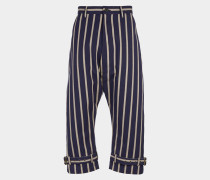 Samurai Trousers Blue/Khaki
