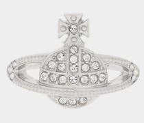 Mini Orb Ring Silver