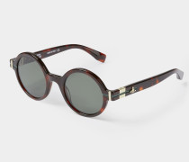 Round Frame Sunglasses Tortoishell