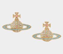 Kika Earrings Gold Tone