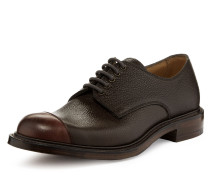 Joseph Cheaney & Son Charlie Derby Lace Up Shoes Burgundy/Walnut