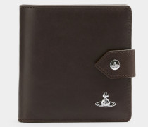York Flap Wallet Brown
