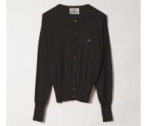 Classic Knit Cardigan Black