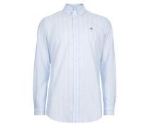 Two Button Krall Shirt Light Blue