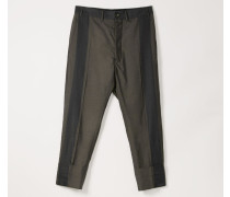George Cropped Trousers Blue