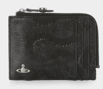 Belfast Zip Wallet Black