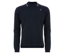New Polo Long Sleeve Navy Blue