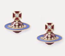 Regina Small Bas Relief Earrings