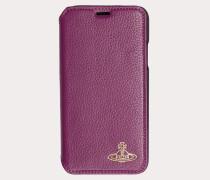 iPhone X Wallet Case Fuchsia