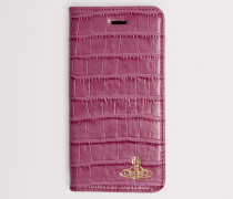 Iphone 7/8 Wallet Case With Flap Fuchsia