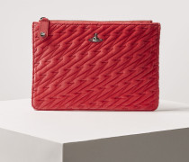 Coventry Quilted Pouch Pink