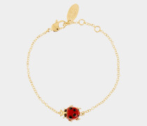 Ladybird Bracelet Gold Plated