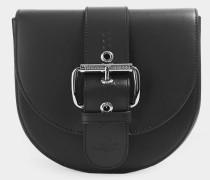 Alex Saddle Bag Black