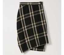 Polina Skirt Black/White Tartan