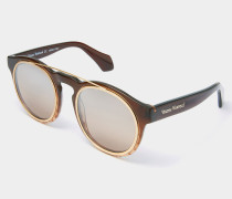 Overstructured Sunglasses Brown