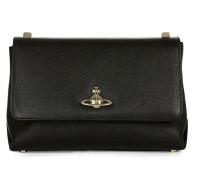 Large Balmoral Bag with Flap 41020001 Black