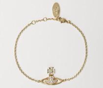 Sorada Bas Relief Bracelet Gold Tone