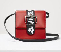 Alex Small Handbag Red/Graffiti
