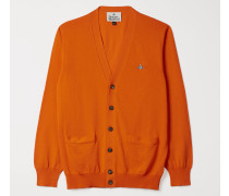 Classic Cardigan Orange