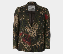 Classic Jacket Camouflage Print