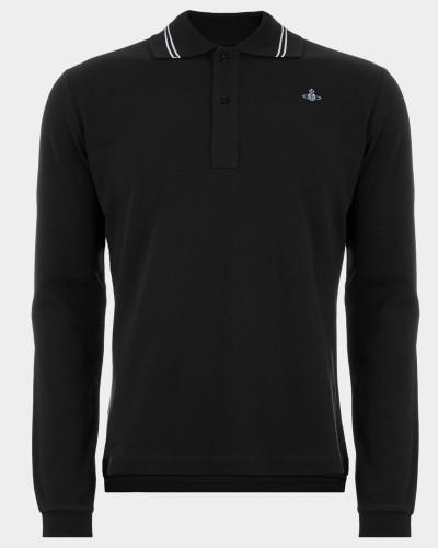 New Polo Long Sleeve Black