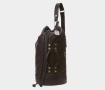 Heath Man Duffle Bag Dark Brown