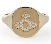 Sterling Silver Milano Ring Gold