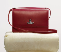 Matilda Large Bag with Flap Red
