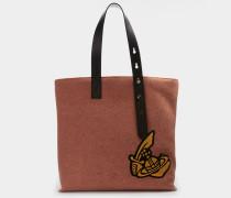 Alice Shopper Bag Orange