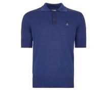 Spring Polo Shirt Indigo Melange