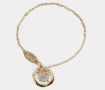 Lena Orb Bracelet Silver/Golden Tone