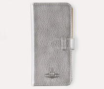 IPHONE 8/7 Flap Case Silver