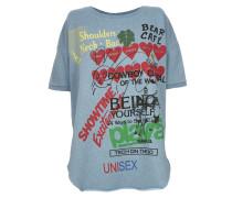 Baggy T-Shirt Baby Blue