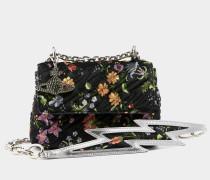 Velvet Coventry Medium Handbag Flower