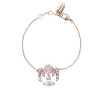Amma Bracelet Pink Gold Tone