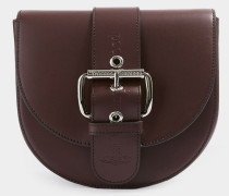 Alex Saddle Bag Burgundy