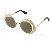Sun and Moon Sunglasses Gold VW9641SLV