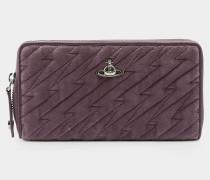 Velvet Coventry Zip Round Wallet Pink