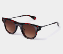 Wayfarer Sunglasses Red Tortoiseshell